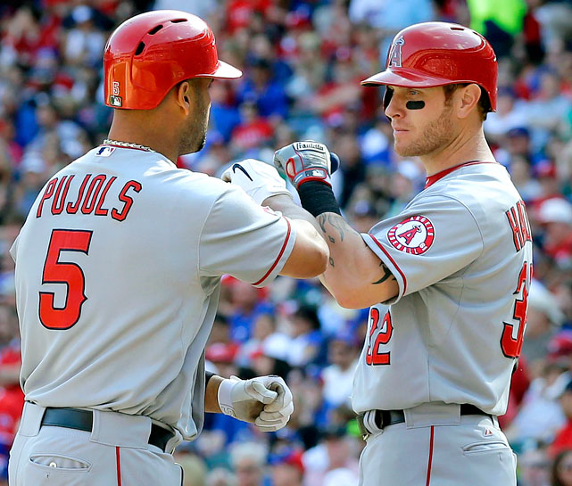 <underline>Highest salaries</underline>: Albert Pujols $23,000,000 Josh Hamilton $17,400,000