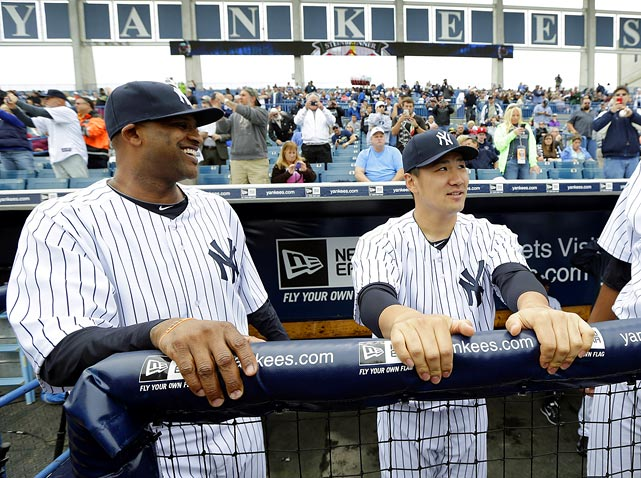 <underline>Highest salaries</underline>: CC Sabathia $24,285,714 Mark Teixeira $23,125,000 (not pictured) Masahiro Tanaka $22,000,000