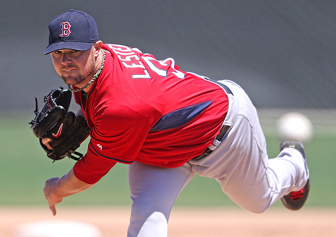 Jon Lester has a major incentive to improve on his 3.75 ERA and 177 strikeouts from last season.