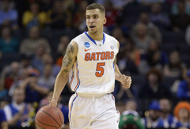 Florida's Scottie Wilbekin only scored 13 points, but he came up big when the Gators needed it most.
