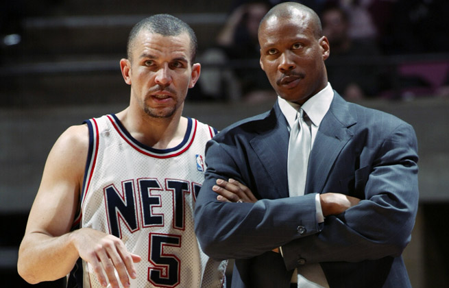 Despite plenty of success in New Jersey, Jason Kidd and Byron Scott repeatedly feuded as Nets.