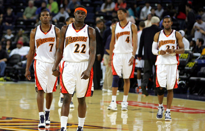A cast of underachievers and middling bench players made up the roster for the 2008-09 Warriors.