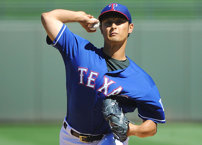 A stiff neck will prevent Yu Darvish from making his scheduled start on Opening Day for the Rangers.