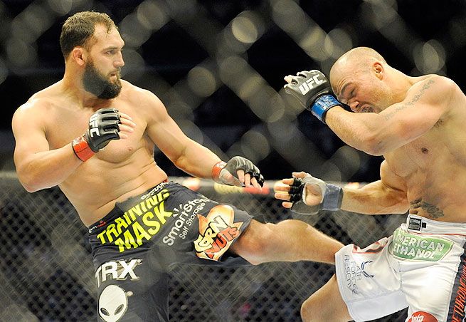 Which fighter deserves the next shot at Johny Hendricks (left) and the UFC welterweight title?