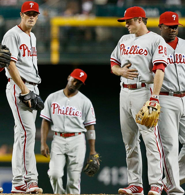 They had the makings of a dynasty after their 2008 title win, but by now, the Phillies' title chances have passed them by. The roster is old just about everywhere, and there's no depth either on the big league club or in the minors. Ruben Amaro Jr. hung on too long to his veterans, who are fully in their decline stages, and there's no infusion of youth or talent to be found in the farm system to bolster Philadelphia.