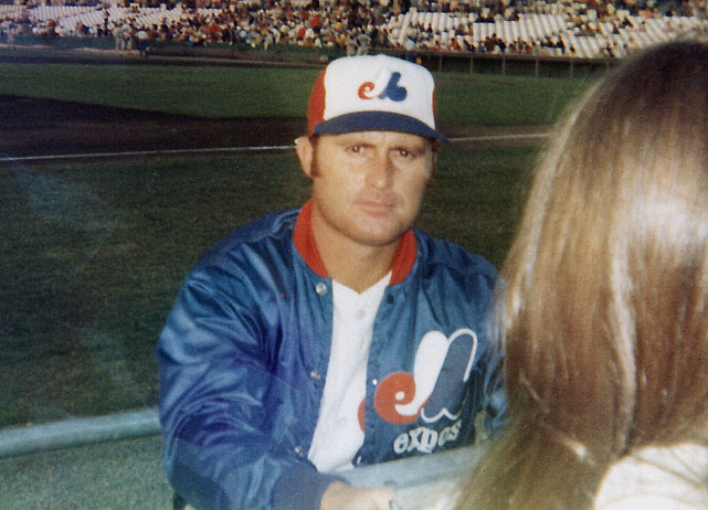 A member of the first-ever Expos team, Fairly came over from the Dodgers in a trade and held down the first base position from 1969 to 1974, hitting .286 with 86 homers and a stellar .381 OBP in that time. His high point came in 1973, when he posted a .298/.422/.458 line in 505 plate appearances, earning him All-Star honors.