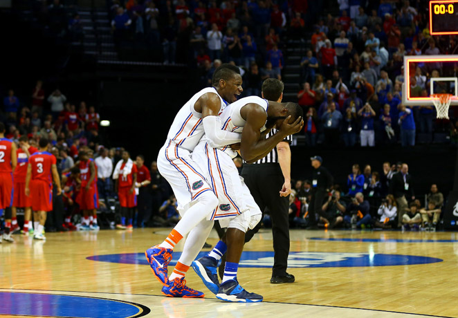 Will Yeguete and Patric Young were key parts of Gators' complete attack that helped them move on to the Final Four.