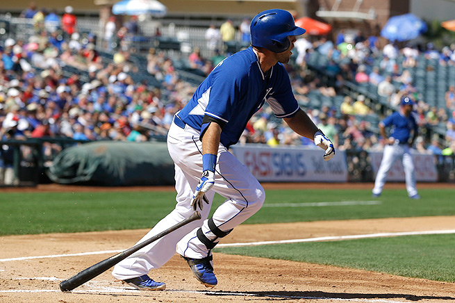 Mike Moustakas hit .429 with four home runs and 18 RBI in 56 at-bats this spring training.