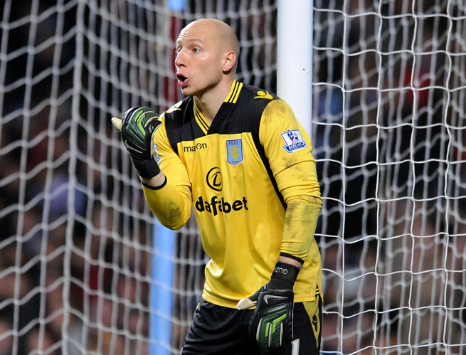 American goalkeeper Brad Guzan and Aston Villa will play a pair of MLS teams this summer in the USA.