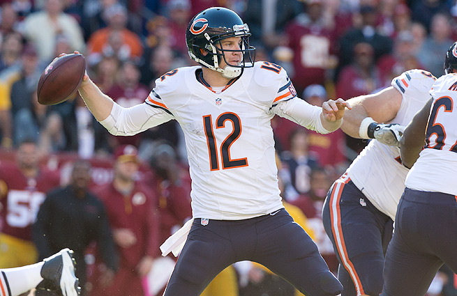 Josh McCown (top) gives the Buccaneers a solid No. 1 QB option ahead of rookie Mike Glennon.