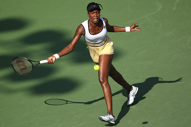 Venus Williams admitted that she wasn't feeling well, but still managed to beat Barbora Zahlavova Strycova.