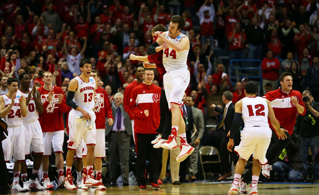 Frank Kaminsky Sr. said he always knew that his son's (No. 44) moment would come, and it finally has.