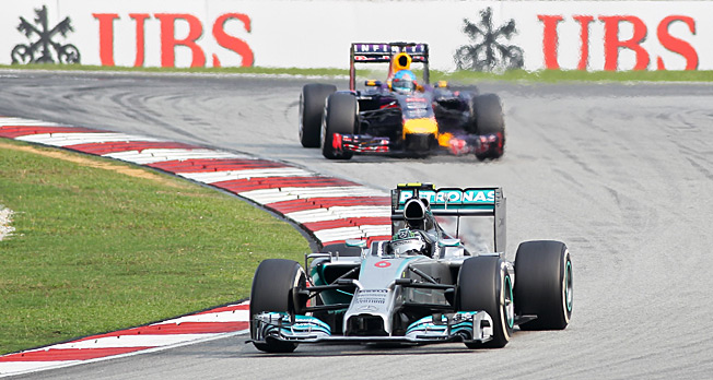 Nico Rosberg and Mercedes are off to a fast start in Formula One's first three races of the year.