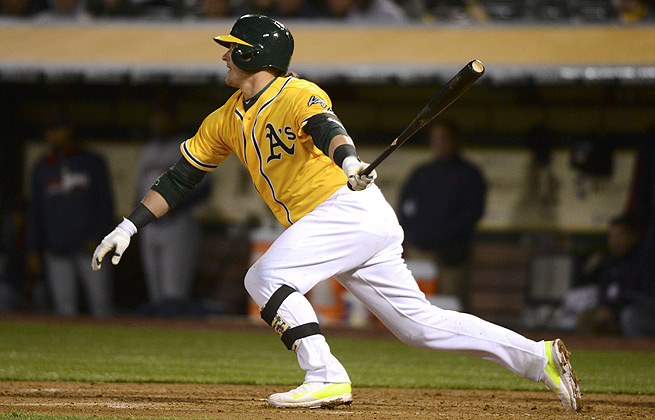 Last season, Josh Donaldson hit .335 against lefty pitchers, while hitting only .285 against righties.