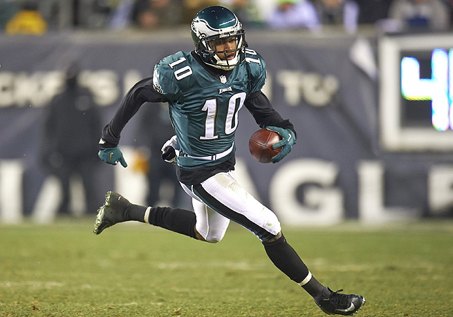 DeSean Jackson had 82 receptions for 1,332 total yards and nine touchdowns in the 2013 season.