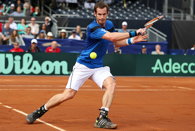 Andy Murray was sidelined by illness for the Davis Cup draw, but is still expected to face Andreas Seppi in the second singles match.