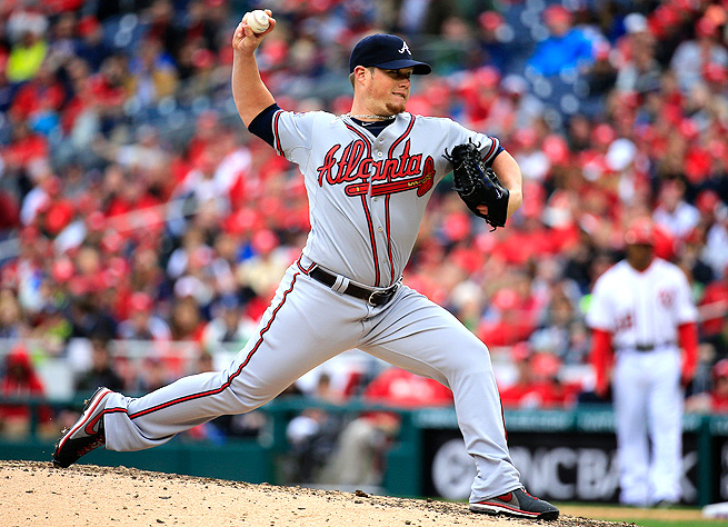 Craig Kimbrel racked up 50 saves and 98 strikeouts in 67 innings pitched last season.