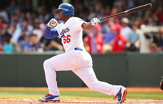 Coverage of Yasiel Puig's first year with the Dodgers focused as much on his personality as his play.