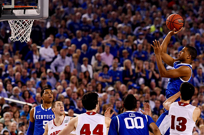 The heroics of Aaron Harrison have helped Kentucky rise above some stiff competition and reach its second title game in three years.