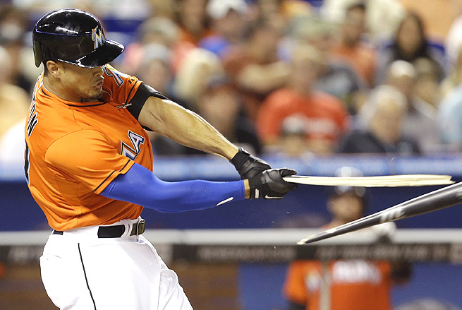Giancarlo Stanton smashed two home runs and knocked in 12 RBI in the first week of the season.