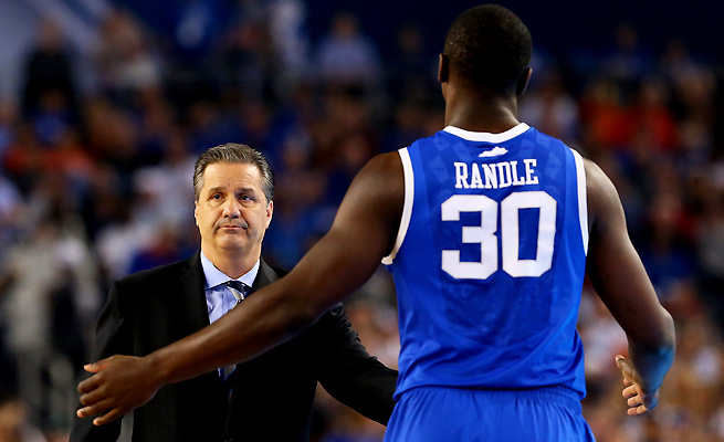 John Calipari had the more talented team Monday, but didn't exploit an advantage with Julius Randle.
