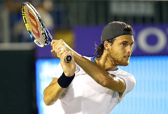 Joao Sousa bounced Igor Sijsling 6-2, 6-4, winning 81 percent of his first-serve points.