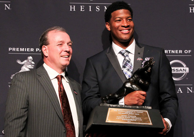 Florida State QB Jameis Winston was the second straight redshirt freshman to win the Heisman Trophy.
