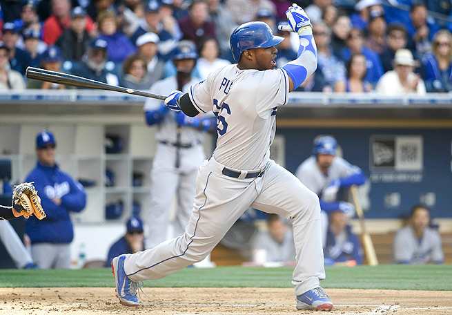 With Yasiel Puig starting slowly, owners might benefit from selling the elite outfielder high.