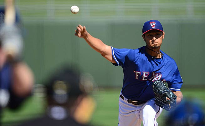 Yu Darvish's strikeout rate makes him an ideal pitcher for daily fantasy games.