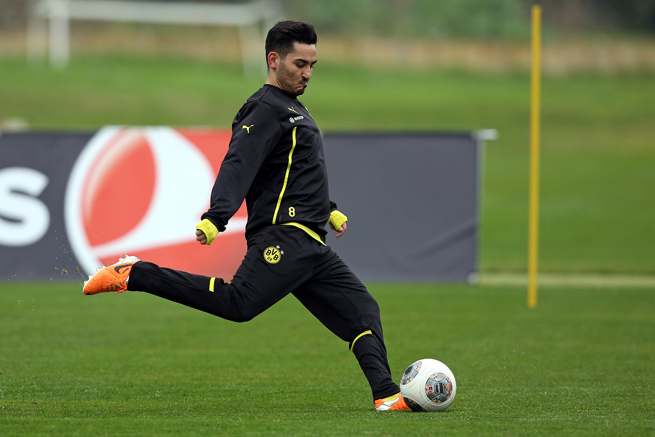 German midfielder Ilkay Gundogan has not played for Borussia Dortmund since August and is likely to miss the World Cup.