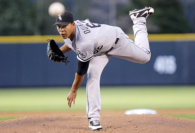 Jose Quintana, who starts against the Cleveland Indians Sunday, racked up 12 K's in seven innings in his first start.