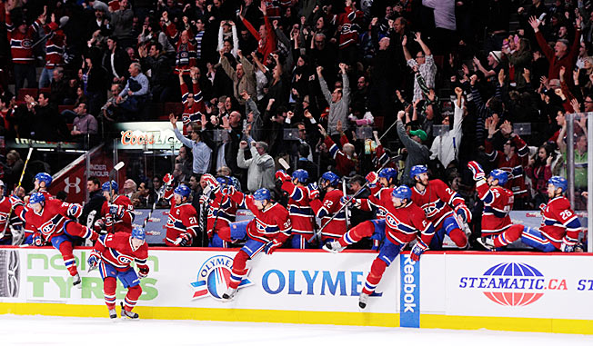 It's now up to the Canadiens to win Canada's first Stanley Cup since Montreal grabbed it in 1993.