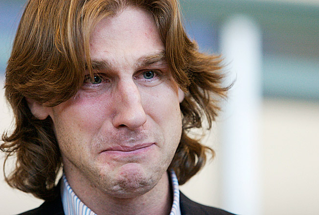 Ryan Smyth's first tearful departure from the Oilers -- to the Isles in '07 -- was his career low point.