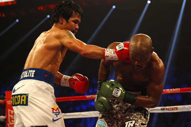 Manny Pacquiao won the rematch with Timothy Bradley by unanimous decision in a fight that wasn't that close.
