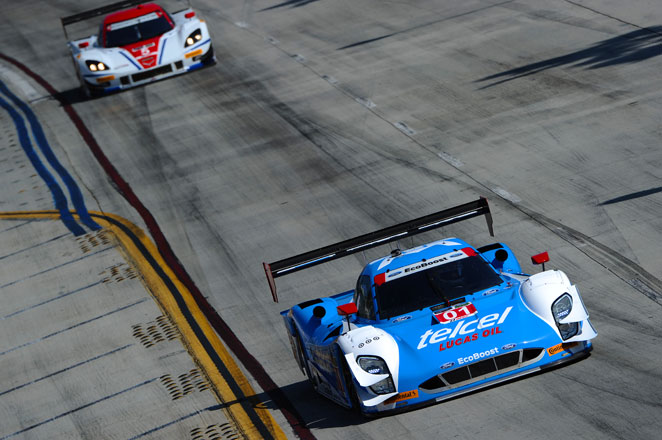 It's the 58th career victory for Pruett and 29th for Rojas. All of Rojas' victories are with Pruett.