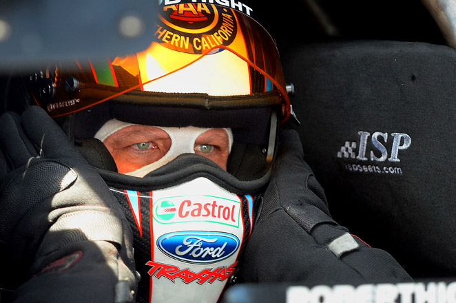 Hight became the first two-time Funny Car winner in the NHRA Four-Wide Nationals.