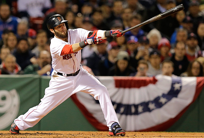 Dustin Pedroia has yet to his a home run this year, which has his fantasy owners slightly worried.