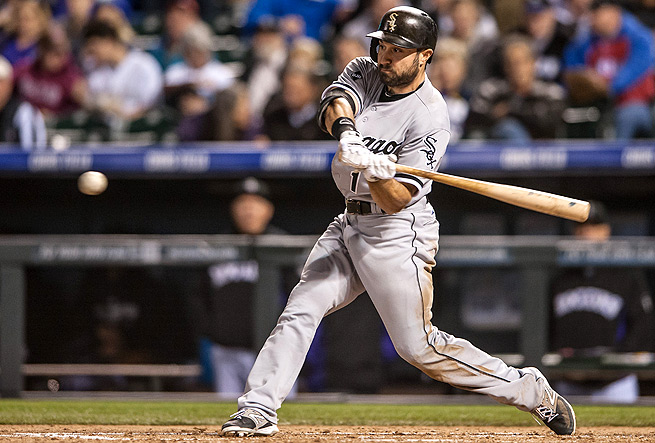 Adam Eaton has contributed across all categories this season, and leads the White Sox with 14 runs.