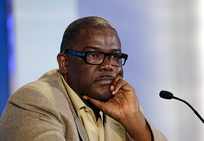 Joe Dumars spent 29 years with the Detroit Pistons organization as a player and executive.