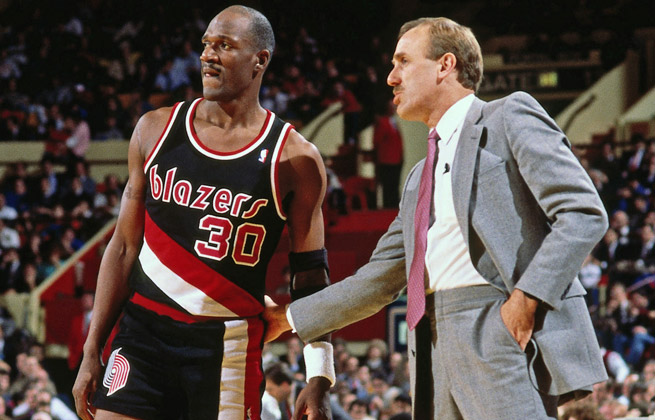 After playing for Rick Adelman with the Blazers, Terry Porter is now an assistant on his Wolves staff.