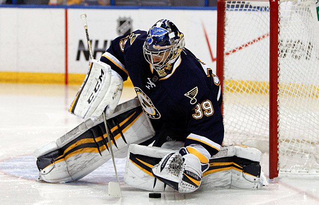 Ryan Miller must help halt the Blues' skid at a time when they can't afford to lose many more games.