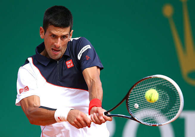 Novak Djokovic needed just 45 minutes to beat Albert Montanes and advance to round three in Monte Carlo.