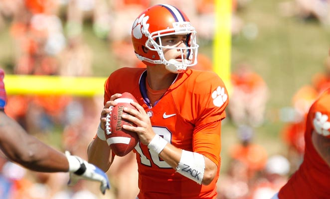 Cole Stroudt was named the provisional starter for Clemson coming out of spring practice.