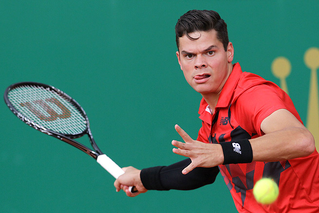 Milos Raonic, the first Canadian in the ATP top 10, says his work with coach Ivan Ljubicic is paying off.