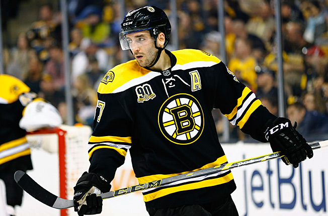 Patrice Bergeron has a well-deserved reputation as a gallant postseason warrior.