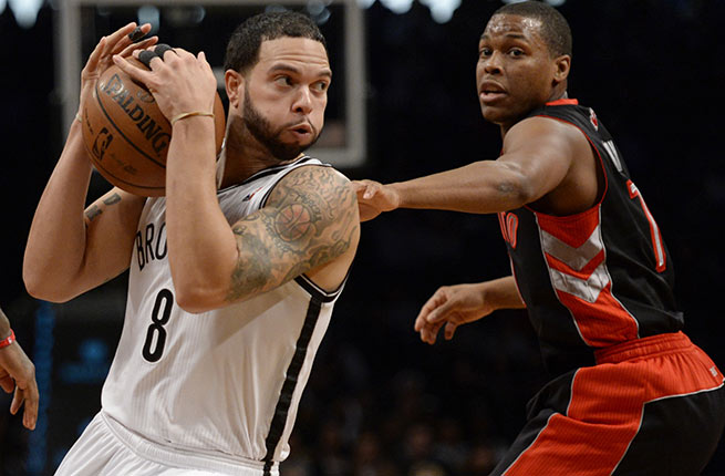 Deron Williams and the Nets fell to the No. 6 seed after losing four of their last five games.