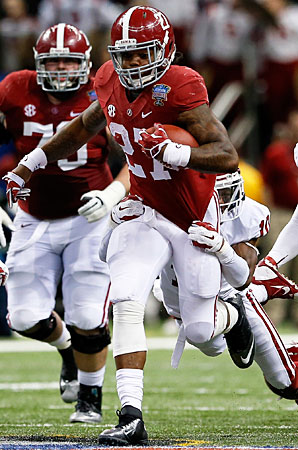 After breaking out in the Sugar Bowl, Derrick Henry should take on a major role for Alabama.