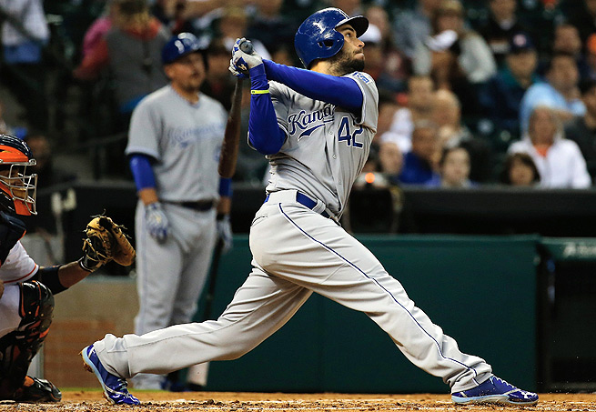 Eric Hosmer's average may only be .286, but he's reached double-digit steals the last three season.