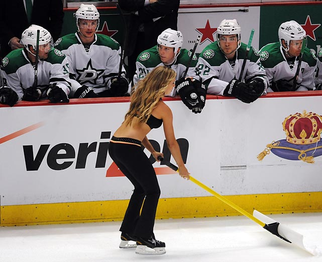 The Ducks' wily use of cheap tricks such as sending a comely wench past their opponents' bench at opportune times worked to perfection in their first two playoff games at Anaheim's Honda Center. Distracted, the Dallas Stars lost a pair of one-goal games and went home muttering and vowing revenge in Game 3 on their ice.