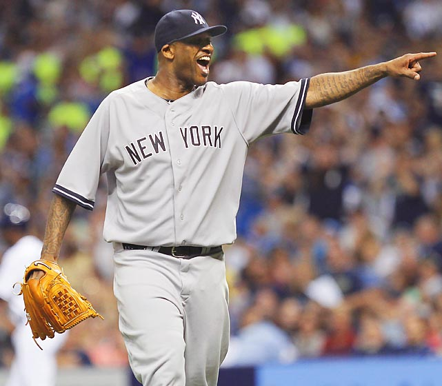 The newly svelte New York Yankee hurler, who's shed quite a few cc's in recent months, gleefully pointed out that his team had turned a rare triple play against the Rays of Tampa Bay.